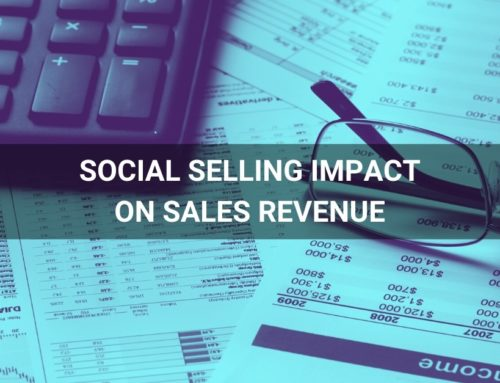 What is the impact of social selling on sales revenue – case study